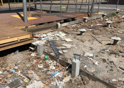 Amsleigh park primary school contaminated soil removal