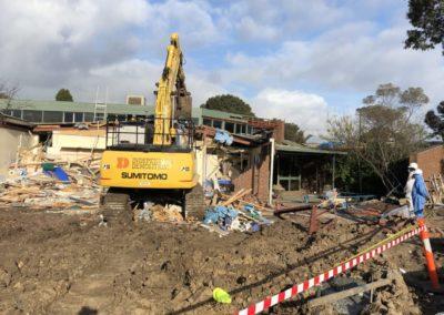 Coburg primary school demolition involving asbestos