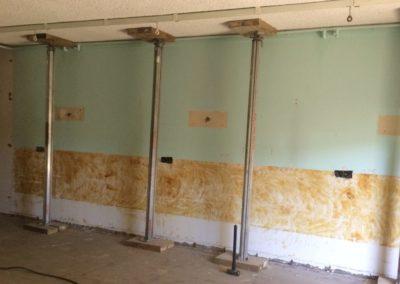 nursing home wall demolition