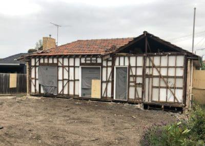 Shore Grove demolition